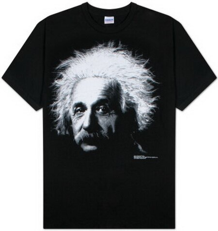Albert Einstein T-Shirt Celebrity