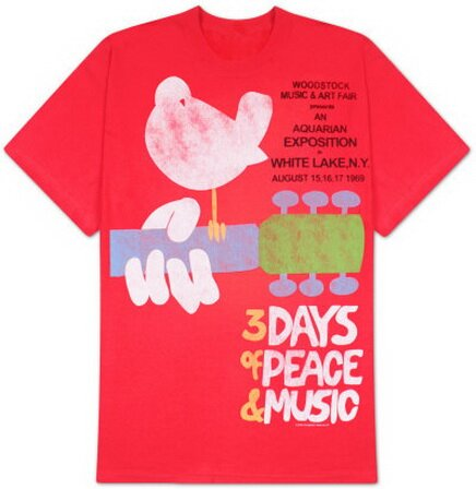 Woodstock - Upstate '69 T-Shirt Music
