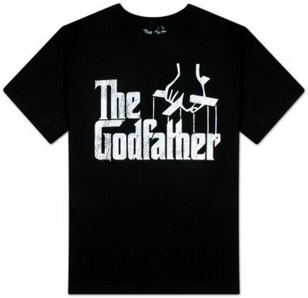 The Godfather - Distressed Logo T-Shirt Movie