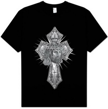 jesus cross pictures. Jesus Cross T-Shirt Fantasy