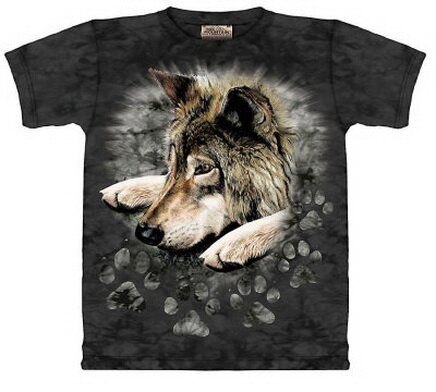 anime wolf paws. Wolf Paws T-Shirt Nature and