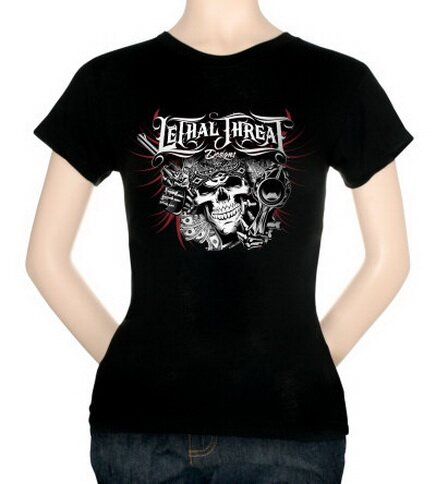 Lethal Threat - Lethal Money Women's Tee Shirts Fantasy