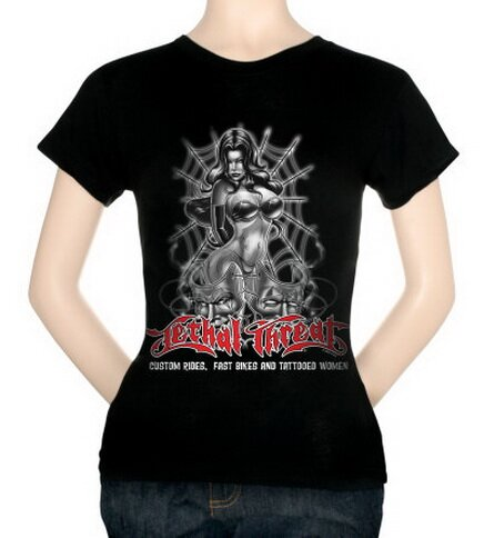 Lethal Threat - Custom Rides Women's T-Shirt Fantasy