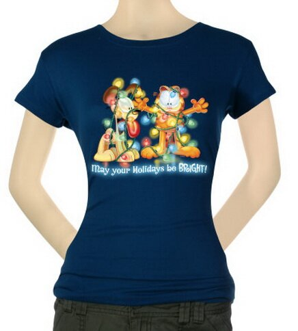 Garfield - Bright Holidays Women's T-Shirt Christmas