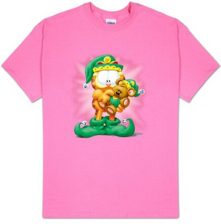 Garfield - Number 1 Elf T-Shirts Christmas