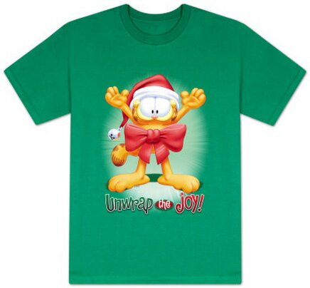 Garfield - Unwrap the Joy! T-Shirt Christmas