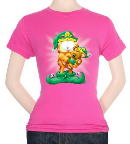 Garfield - Number 1 Elf Women's T-Shirt Xmas