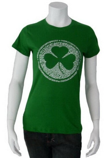 Irish Clover Women's T-Shirts World Culture