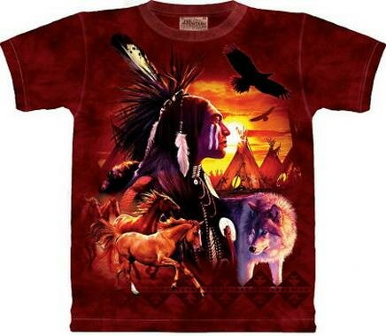 Indian Collage T-Shirt World Culture