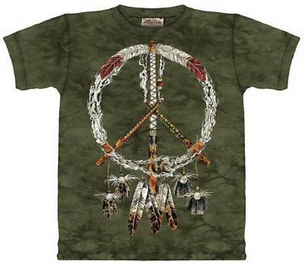 Peace Pipes T-Shirt World Culture