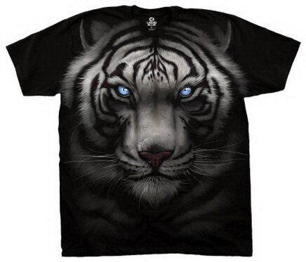White Tiger T-Shirt Nature and Animals