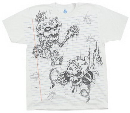 Demon Sketch T-Shirt Fantasy
