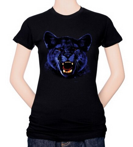 Panther Women's T-Shirt Nature and Animals
