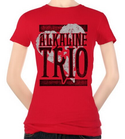 Alkaline Trio - Knocked Out Heart Women's T-Shirt Music