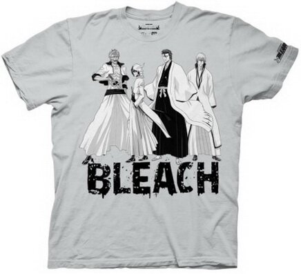 Bleach - Group With Splatter Type T-Shirt Anime