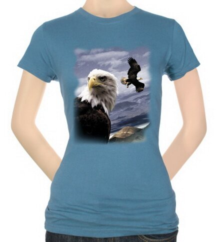 Mountain Eagles Women's T-Shirt Nature and Animals