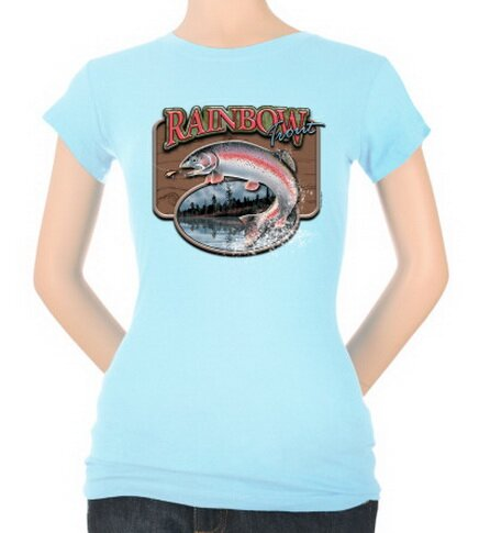 Rainbow Trout Women's T-Shirt Nature and Animals