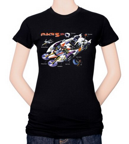 Speed Racer-Mach 5 Specs Women's T-Shirt Anime
