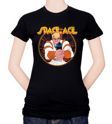 Space Ace - Aiming Ace Women's T-Shirt Video Game