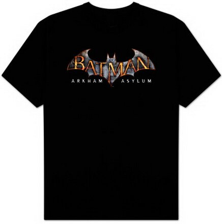 Batman AA - Arkham Asylum Logo T-Shirt Video Game