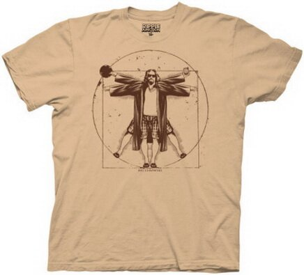 Big Lebowski - Vitruvian T-Shirt Movie