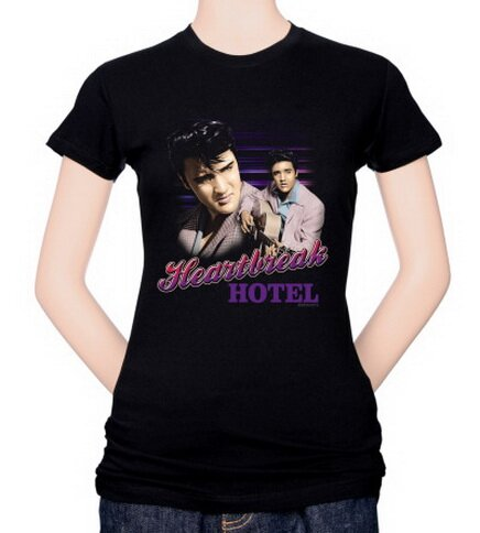 Elvis - Heartbreak Hotel Women's T-Shirt Celebrity