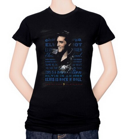 Elvis - Icon Women's T-Shirt Celebrity
