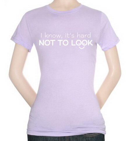 Hard Not To Look Women's T-Shirt Funny