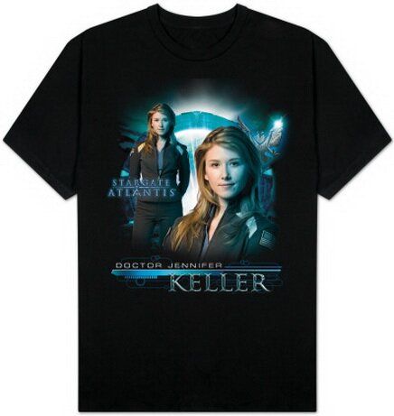 Stargate Atlantis - Jennifer Keller T-Shirt TV