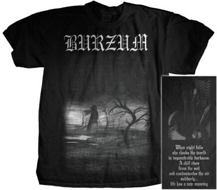 Burzum - When Night Falls T-Shirt Music