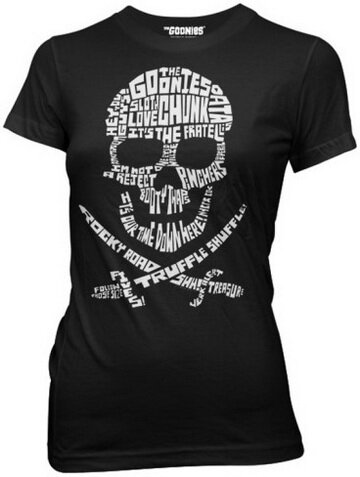 Goonies - Quote Skull Women's T-Shirts Movie