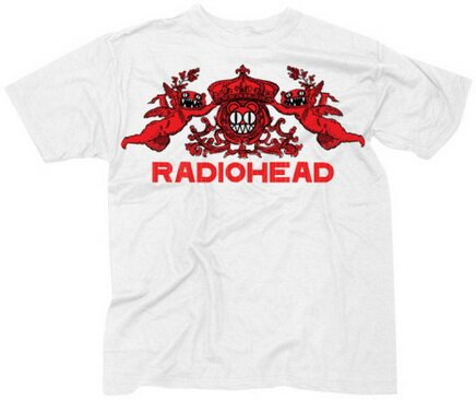 Radiohead - Bear Crest T-Shirt Music