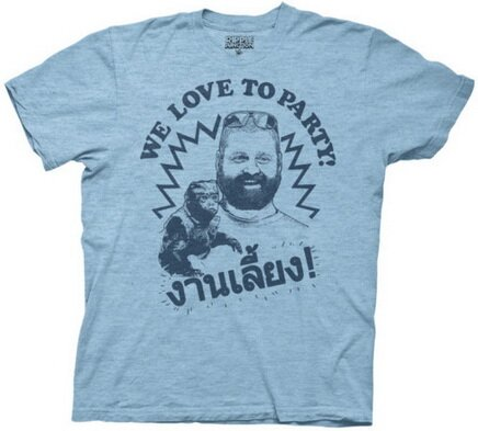 Hangover II - We Love To Party T-Shirt Movie