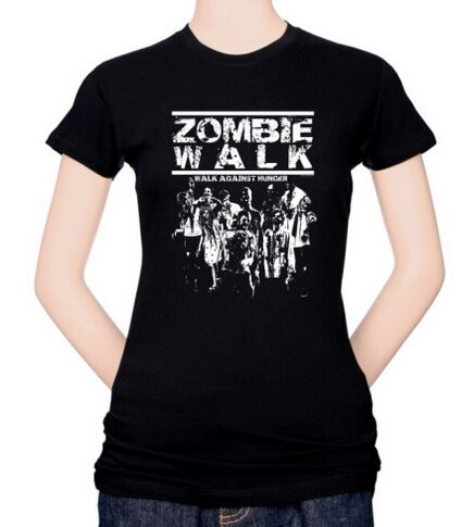 Zombie Walk Women's T-Shirt Fantasy
