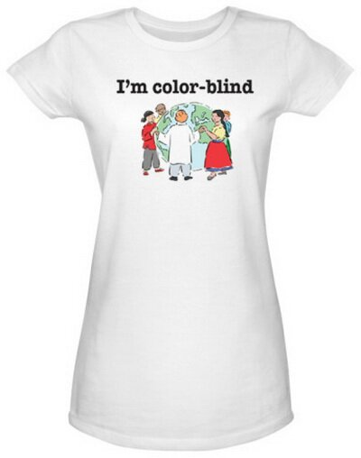 Color Blind Women's T-Shirt World Culture