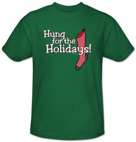 Hung For The Holidays T-Shirt Christmas