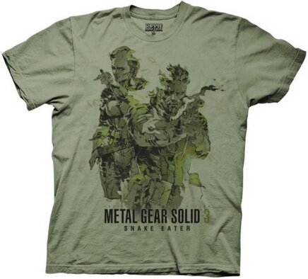Metal Gear Solid - MGS3 Snake Eater T-Shirt Video Game