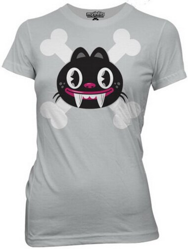 Mythtaken - Chuppi Skull and Crossbones Women's T-Shirt Anime