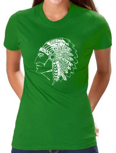 Native American Indian Women's T-Shirt World Culture