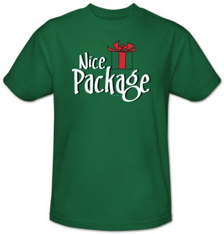 Nice Package T-Shirt Christmas
