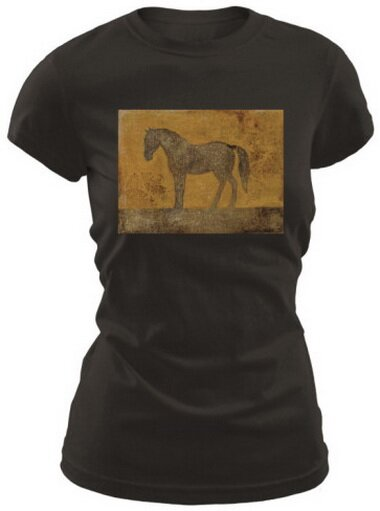 Oxidized Horse Women's T-Shirt Nature and Animals