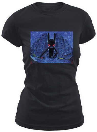 DJ BlackRabbit Women's T-Shirt Nature and Animals