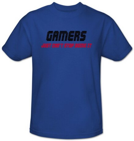 Gamers Can't Stop T-Shirt Video Game