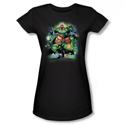 Green Lantern Corps Women's T-Shirt Comics