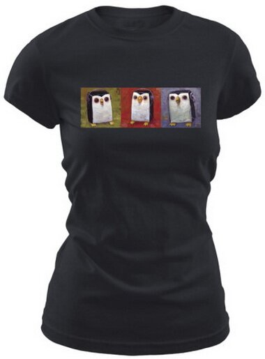 Hip Hopenguin Women's T-Shirt Comics