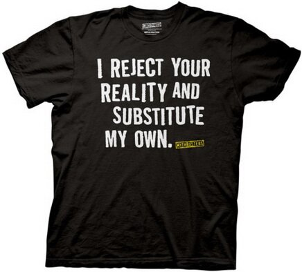 Mythbusters - I Reject Your Reality T-Shirt TV