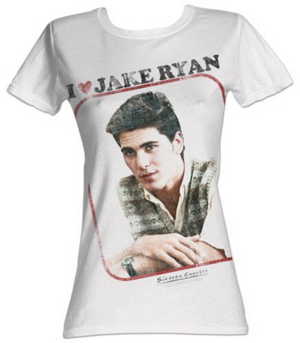 Sixteen Candles - I Love Jake Ryan Women's T-Shirt Movie