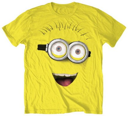 Despicable Me - Front Face T-Shirt Movie