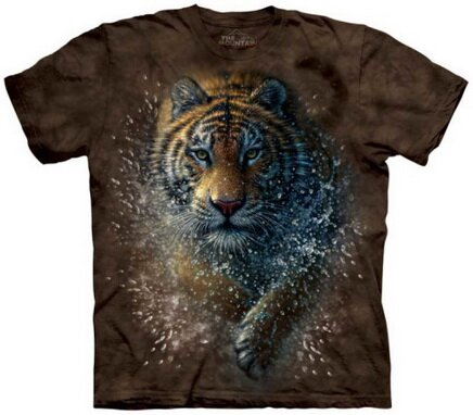 Tiger Splash T-Shirt Nature and Animals