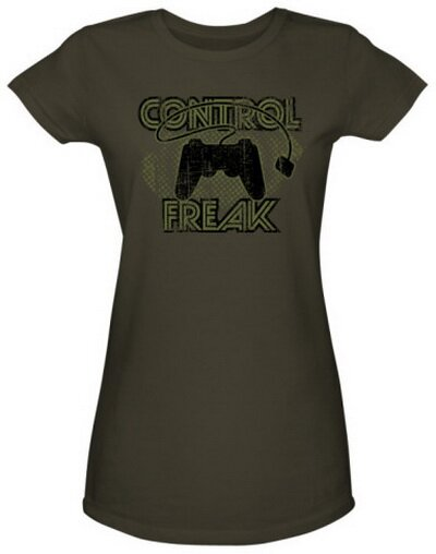 Control Freak Women's T-Shirt Video Game